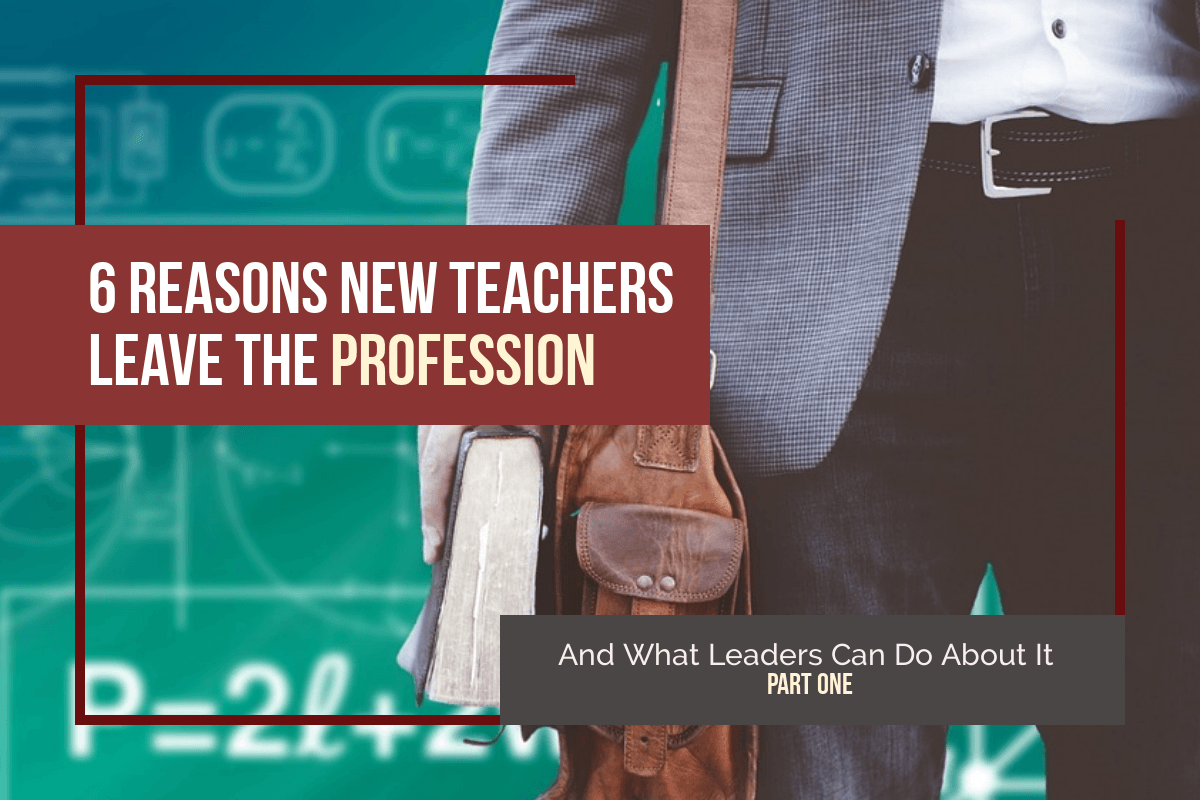 why teachers leave